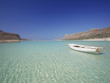 Balos Bay and Gramvousa, Chania, Crete, Greek Islands, Greece, Europe Photographie par Sakis Papadopoulos