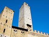 San Gimignano, UNESCO World Heritage Site, Tuscany, Italy, Europe Photographic Print by Nico Tondini