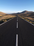 Road Near La Pared, Fuerteventura, Canary Islands, Spain, Europe Photographic Print by Hans-Peter Merten