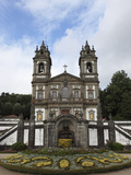 Bom Jesus Do Monte Sanctuary Church, a Baroque Place of Worship, Braga, Minho, Portugal, Europe Photographic Print by Stuart Forster