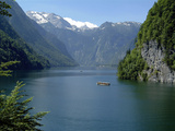 Koenigssee, Berchtesgadener Lsand, Bavaria, Germany, Europe Photographic Print by Hans-Peter Merten