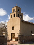Our Lady of Guadalupe Church (El Santuario De Guadalupe Church), Built in 1781, Santa Fe, New Mexic Photographic Print by Richard Maschmeyer