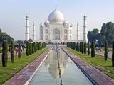 Taj Mahal, UNESCO World Heritage Site, Agra, Uttar Pradesh State, India, Asia Photographie par Gavin Hellier