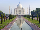 Taj Mahal, UNESCO World Heritage Site, Agra, Uttar Pradesh State, India, Asia Photographic Print by Gavin Hellier