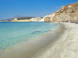 Firiplaka Beach, Milos, Cyclades Islands, Greek Islands, Aegean Sea, Greece, Europe Photographic Print by  Tuul