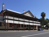 The Nannup Hotel, a Traditional Australian Hotel and Bar, in Nannup, Western Australia, Australia,  Photographic Print by Stuart Forster