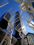 Stephen Avenue, Calgary, Alberta, Canada, North America Photographic Print by Hans-Peter Merten