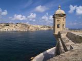 Fort St. Michael, Senglea, Grand Harbour, Valletta, Malta, Mediterranean, Europe Photographic Print by Hans-Peter Merten