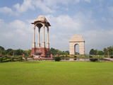 India Gate, 42 Metre High, Eastern End of the Rajpath, New Delhi, Delhi, India, Asia Photographic Print by Gavin Hellier