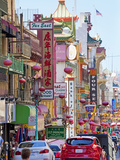 Street Scene in China Town Section of San Francisco, California, United States of America, North Am Photographic Print by Gavin Hellier