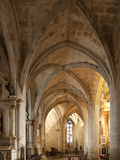 Saint Sauveur Basilica Interior, Dinan, Brittany, France, Europe Photographic Print by Nick Servian