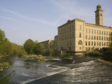 Salts Mill, UNESCO World Heritage Site, Saltaire, Near Bradford, Yorkshire, England, United Kingdom Photographic Print by Rolf Richardson