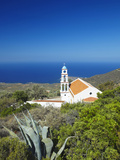 Church Overlooking the Aegean Sea, Chania, Crete, Greek Islands, Greece, Europe Photographic Print by Sakis Papadopoulos