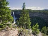 Helmcken Falls, Wells Grey Provincial Park, British Columbia, Canada, North America Reprodukcja zdjęcia autor Martin Child