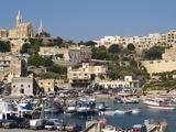 Mgarr, Gozo, Malta, Mediterranean, Europe Fotografisk tryk af Hans-Peter Merten