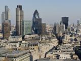 City of London Skyline, London, England, United Kingdom, Europe Photographic Print by Charles Bowman