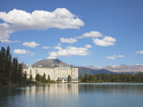 The Fairmont Chateau Lake Louise Hotel, Lake Louise, Banff National Park, UNESCO World Heritage Sit Photographic Print by Martin Child