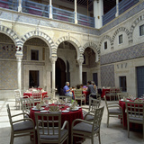 Restaurant Inside the Medina, Tunis, Tunisia, North Africa, Africa Photographic Print by Stuart Black