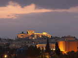 Sunset over the Acropolis, UNESCO World Heritage Site, Athens, Greece, Europe Photographic Print by Martin Child