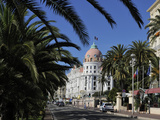 Hotels Lining Promenade Des Anglais, Nice, Alpes Maritimes, Provence, Cote D&#39;Azur, French Riviera,  Photographic Print by Peter Richardson