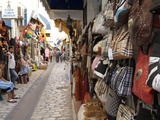 Bazaar in Houmt Souk, Island of Jerba, Tunisia, North Africa, Africa Photographic Print by Hans-Peter Merten