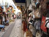 Bazaar in Houmt Souk, Island of Jerba, Tunisia, North Africa, Africa Stampa fotografica di Hans-Peter Merten