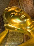 Reclining Buddha, Wat Pho (Reclining Buddha Temple) (Wat Phra Chetuphon), Bangkok, Thailand, Southe Photographic Print by Richard Maschmeyer