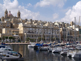 Senglea Harbour, Malta, Mediterranean, Europe Photographic Print by Hans-Peter Merten