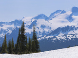 Snow Covered Mountains Near Whistler, British Columbia, Canada, North America Photographic Print by Martin Child