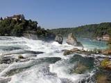 Rhine Falls, Schaffhausen, Switzerland, Europe Reprodukcja zdjęcia autor Hans-Peter Merten