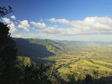 View of Finch Hatton and Pioneer Valley, Eungella, Queensland, Australia, Pacific Photographic Print by Jochen Schlenker
