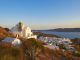 Kastro and the Church Ipapanti, Plaka, Old Village, Milos, Cyclades Islands, Greek Islands, Aegean  Photographic Print by  Tuul