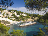 View from Hillside to the Harbour Portals Vells Near Magaluf, Mallorca, Balearic Islands, Spain, Me Photographic Print by Ruth Tomlinson