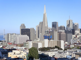 City Skyline, San Francisco, California, United States of America, North America Photographie par Gavin Hellier