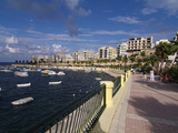 Mellieha Bay, Malta, Mediterranean, Europe Photographic Print by Hans-Peter Merten