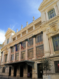 Facade of the Opera Theatre, Nice, Alpes Maritimes, Provence, Cote D'Azur, French Riviera, France,  Photographic Print by Peter Richardson