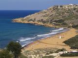 Ramla Bay, Gozo, Malta, Mediterranean, Europe Photographie par Hans-Peter Merten