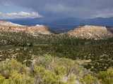 Thunderstorm Near Los Alamos, New Mexico, United States of America, North America Photographic Print by Richard Cummins