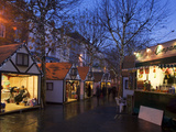 Christmas Market on Parliament Street, York, Yorkshire, England, United Kingdom, Europe Photographic Print by Mark Sunderland