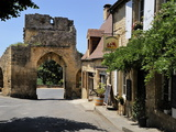 Porte Del Bos, Bastide Town, Domme, Les Plus Beaux Villages De France, Dordogne, France, Europe Photographic Print by Peter Richardson