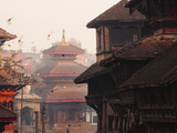 Durbar Square, Kathmandu, Nepal, Asia Photographic Print by Mark Chivers