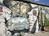 East Side Gallery, Berlin Wall Museum, Berlin, Germany, Europe Photographie par Hans-Peter Merten