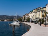 Lungolago Zanardelli, Salo, Lake Garda, Lombardy, Italian Lakes, Italy, Europe Photographic Print by Sergio Pitamitz