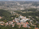 Sintra National Palace (Palacio Nacional) Dominates the Centre of the Town in Sintra, District of L Photographic Print by Stuart Forster