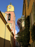 St. Tropez Church, St. Tropez, Var, Provence, Cote D'Azur, France, Europe Photographic Print by Peter Richardson