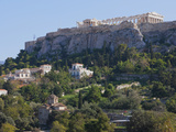 The Acropolis from Ancient Agora, UNESCO World Heritage Site, Athens, Greece, Europe Photographic Print by Martin Child