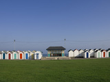 Beach Huts and Promenade Shelter, Paignton, Devon, England, United Kingdom, Europe Photographic Print by James Emmerson
