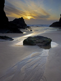 Evening, Bedruthan Steps, Cornwall, England, United Kingdom, Europe Photographic Print by Jeremy Lightfoot
