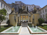 The Jardim De Manga Pavilion and Fountain, Once Part of Santa Cruz, Coimbra, Beira Litoral, Portuga Photographic Print by Stuart Forster