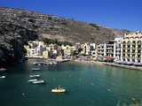 View over Bay, Xlendi, Gozo, Malta, Mediterranean, Europe Photographic Print by Stuart Black